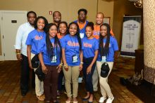 ReTOOL Students at the 2015 Black Men's Health Summit in Orlando, FL.