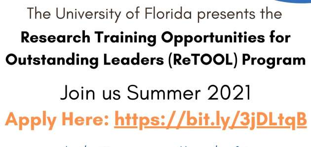 ReTOOL Application 2021 Program